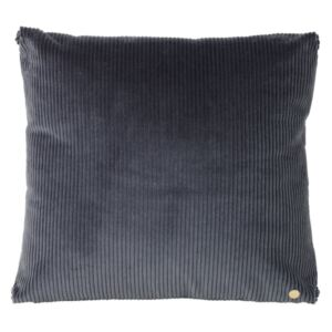 Ferm Living Vankúš Corduroy Cushion, dark grey