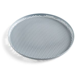 HAY Tácka Perforated Tray L, dusty blue