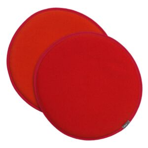 Vitra Sedák na stoličku Seat Dot, red-orange