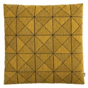 Muuto Vankúš Tile Cushion, Yellow 50x50