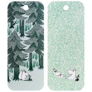 Doska Moomin In the Depth of the Forest 18x44cm Muurla