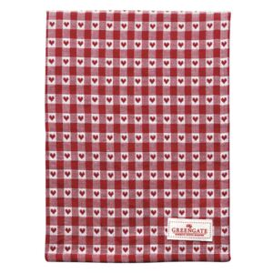 GreenGate utierka Heart petit red