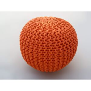 Bakero Pouf cool orange (50x50 cm)