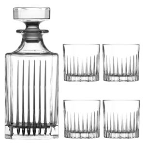 Diamante whisky set Broadway 1+4