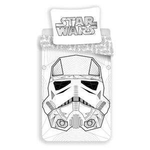 Jerry Fabrics Star Wars white Bavlna 140x200 70x90