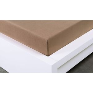 XPOSE ® Jersey plachta 90 × 200 cm Exclusive – hnedá