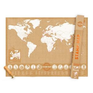 LUCKIES Mapa STAMP MAP
