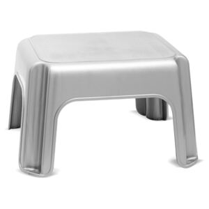 Sivá stolička Addis Step Stool Metallic