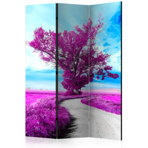 Paraván - Violet Tree [Room Dividers] 135x172