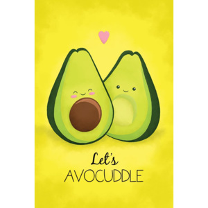 Plagát - Avocado (Let's Avocuddle)