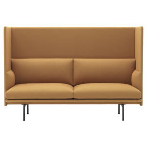 Muuto Dvojmiestna pohovka Outline High Back, Vidar 472