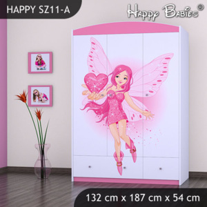 Skriňa Happy Pink SZ11-A