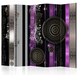 Paraván - Purple Harmony of Despair II [Room Dividers] 225x172