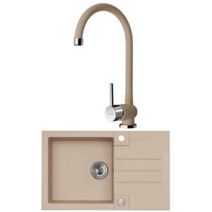 ALVEUS Set W2 - Rock 130 + AM 80, beige