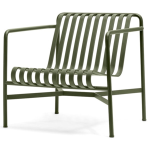HAY Stolička Palissade Lounge Chair Low, olive