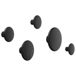 Muuto Sada vešiakov The Dots, black