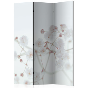 Paraván - White Flowers [Room Dividers] 135x172