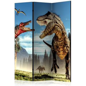 Paraván - Dinosaurs Fight [Room Dividers] 135x172