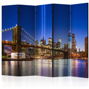 Paraván - Blue New York II [Room Dividers] 225x172 7-10 dní