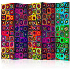 Paraván - Colorful Abstract Art II [Room Dividers] 225x172 7-10 dní