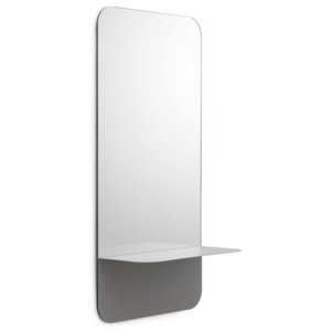 Normann Copenhagen Zrkadlo Horizon Vertical, grey