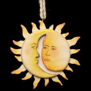 Kissing Sun with Moon