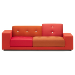 Vitra Pohovka Polder Compact, red