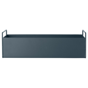 Ferm Living Truhlík na rastliny Plant Box Small, Dark Grey