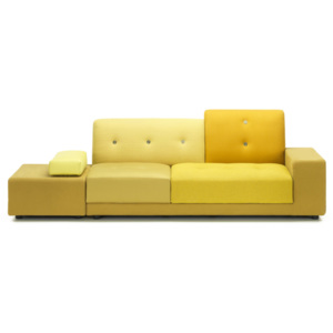 Vitra Pohovka Polder Sofa, golden yellow