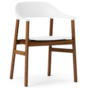 Normann Copenhagen Stolička Herit Armchair Smoked Oak, white