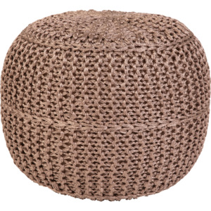 Obsession koberce Sedák Pouf Exo 444 Taupe - 43x40 Expres