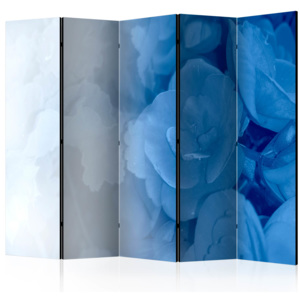 Paraván - Blue Bouquet II [Room Dividers] 225x172