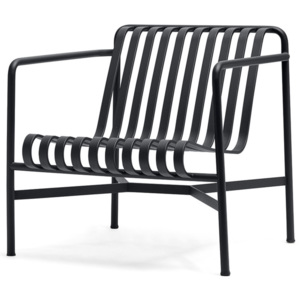 HAY Stolička Palissade Lounge Chair Low, anthracite