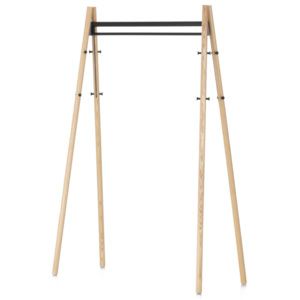 Artek Vešiak Kiila Coat Rack, clear/black