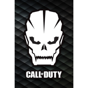 Plagát, Obraz - Call Of Duty - Skull, (61 x 91,5 cm)