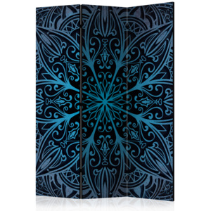 Paraván - Feathers (Blue) [Room Dividers] 135x172