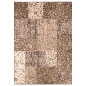 Hanse Home Collection koberce Kusový koberec Celebration 103465 Kirie Brown Creme - 120x170 cm