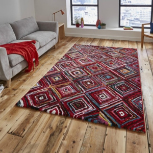 Koberec Think Rugs Sunrise Tiles, 120 × 170 cm