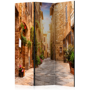 Paraván - Colourful Street in Tuscany [Room Dividers] 135x172 7-10 dní
