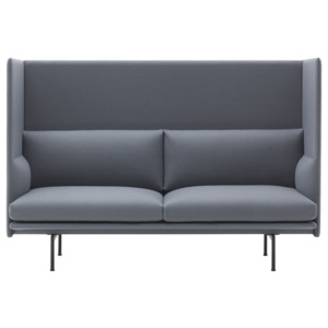 Muuto Pohovka Outline High Back, Divina 154