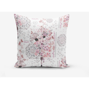 Obliečka na vankúš s prímesou bavlny Minimalist Cushion Covers Powder Colour Working Theme, 45 × 45 cm