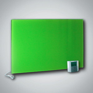FENIX Sklenený sálavý panel GR+ 500 Yellow-Green 500W