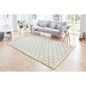 Hanse Home Collection koberce Kusový koberec Celebration 103448 Lattice Blue - 80x150 cm