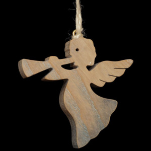 Flying Angel with Trumpet