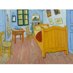 Reprodukcia obrazu Vincenta van Gogha - The Bedroom, 40 × 30 cm